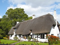A luxury holiday cottage in